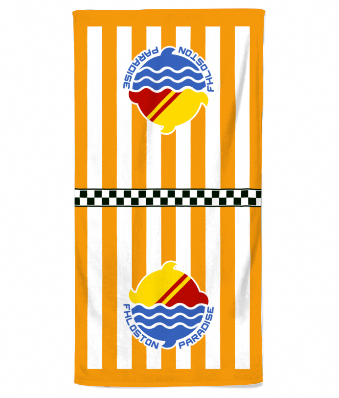 Fhloston Paradise Resort Beach Towel from Fifth Element